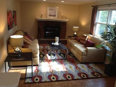 After staging -- Family Room