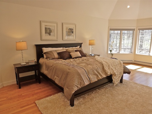 Photos sell your home faster by making a great impression bergen county nj Master bedroom home staging