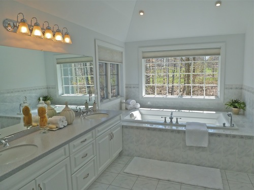 After staging -- Master Bath