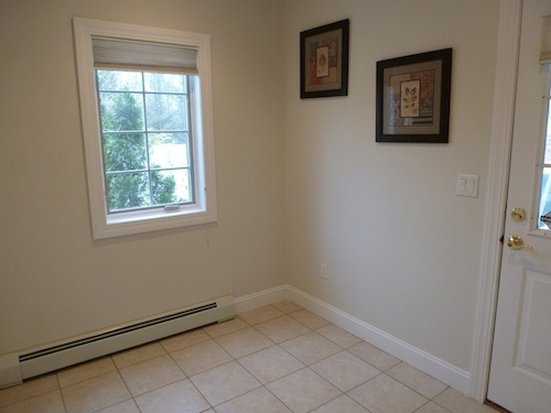 Before staging -- Mudroom